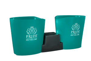 Pride on the Line Ice Bath - Recovery Bath Duo Aqua