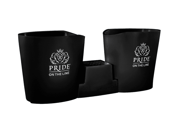 Pride on the Line Ice Bath - Recovery Bath Duo Black