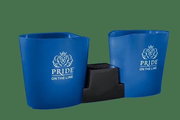 Pride on the Line Ice Bath - Recovery Bath Duo Medium Blue