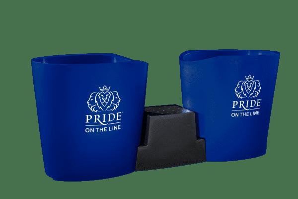 Pride on the Line Ice Bath - Recovery Bath Duo Dark Blue
