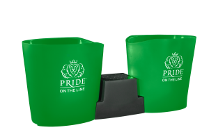 Pride on the Line Ice Bath - Recovery Bath Duo Green