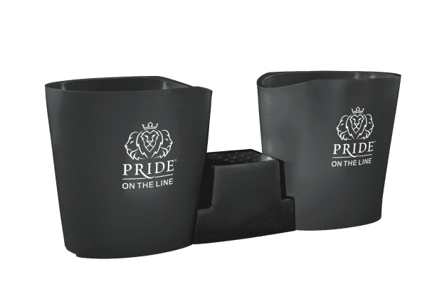 Pride on the Line Ice Bath - Recovery Bath Duo Grey