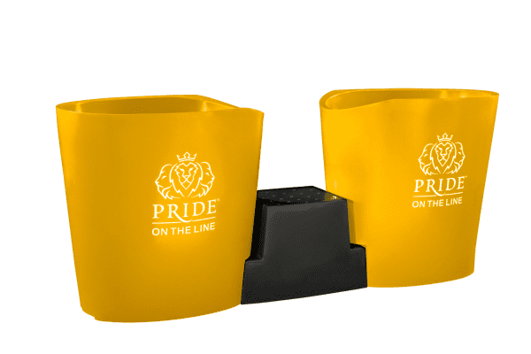 Pride on the Line Ice Bath - Recovery Bath Duo Yellow