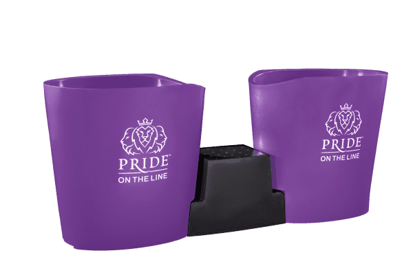 Pride on the Line Ice Bath - Recovery Bath Duo Purple