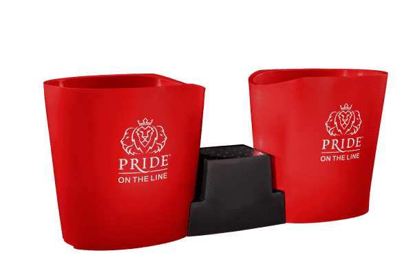 Pride on the Line Ice Bath - Recovery Bath Duo Red