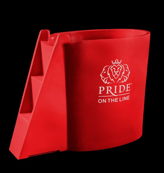 Pride on the Line Recovery Bath Colours Red