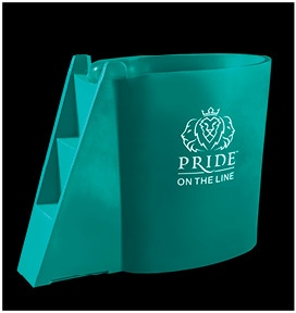 Pride on the Line Recovery Bath Colours