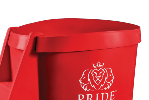 Pride on the Line Ice Bath - Recovery Bath Compact Lid Red