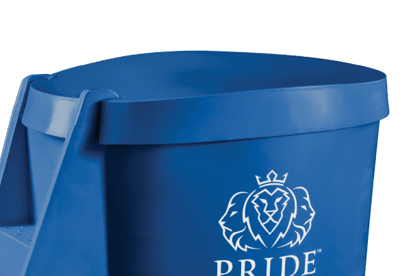 Pride on the Line Ice Bath - Recovery Bath Compact Lid Mid Blue
