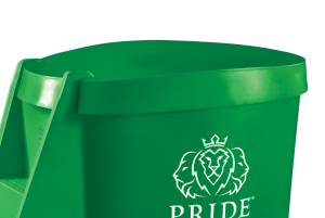 Pride on the Line Ice Bath - Recovery Bath Compact Lid Green