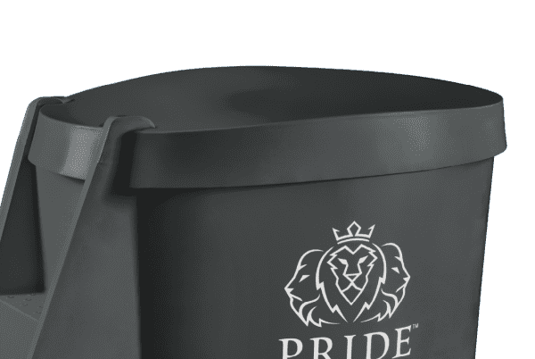 Pride on the Line Ice Bath - Recovery Bath Compact Lid Charcoal