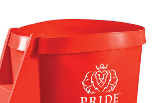 Pride on the Line Ice Bath - Recovery Bath Compact Lid Orange