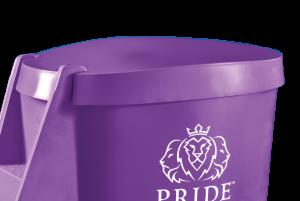 Pride on the Line Ice Bath - Recovery Bath Compact Lid Purple