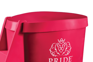 Pride on the Line Ice Bath - Recovery Bath Compact Lid Pink