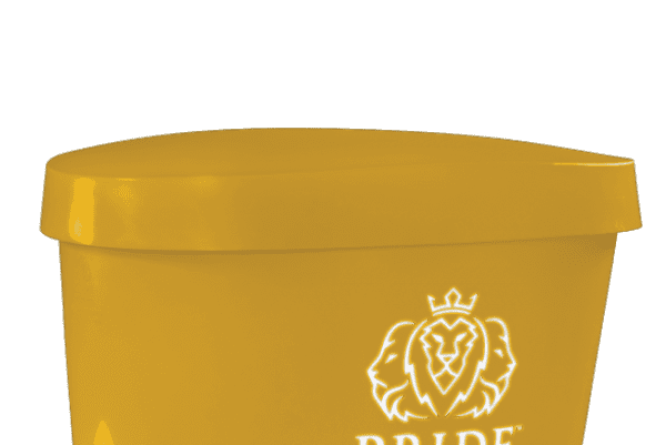 Pride on the Line Ice Bath - Recovery Bath Duo Lid Yellow
