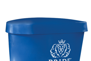 Pride on the Line Ice Bath - Recovery Bath Duo Lid Blue