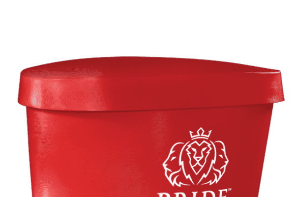 Pride on the Line Ice Bath - Recovery Bath Duo Lid Red