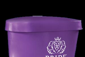 Pride on the Line Ice Bath - Recovery Bath Duo Lid Purple