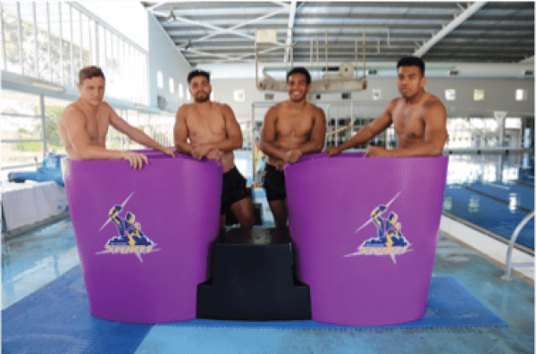 Pride on the Line Ice Baths - Our Testimonials Melbourne Storm