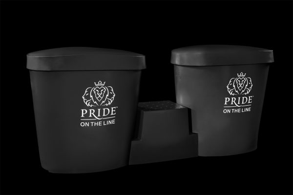 Pride on the Line Ice Bath - Recovery Bath Duo Package Black