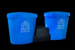 Pride on the Line Ice Bath - Recovery Bath Duo Package Blue