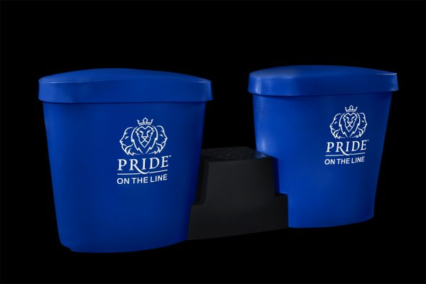 Pride on the Line Ice Bath - Recovery Bath Duo Package Dark Blue