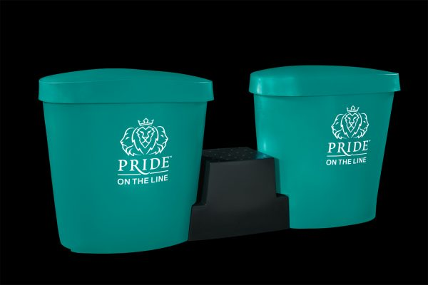 Pride on the Line Ice Bath - Recovery Bath Duo Package Aqua
