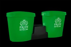 Pride on the Line Ice Bath - Recovery Bath Duo Package Green