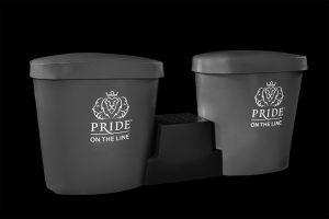 Pride on the Line Ice Bath - Recovery Bath Duo Package Grey