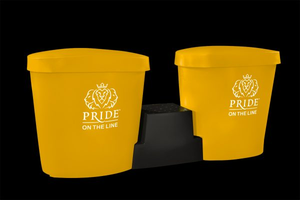 Pride on the Line Ice Bath - Recovery Bath Duo Package Yellow