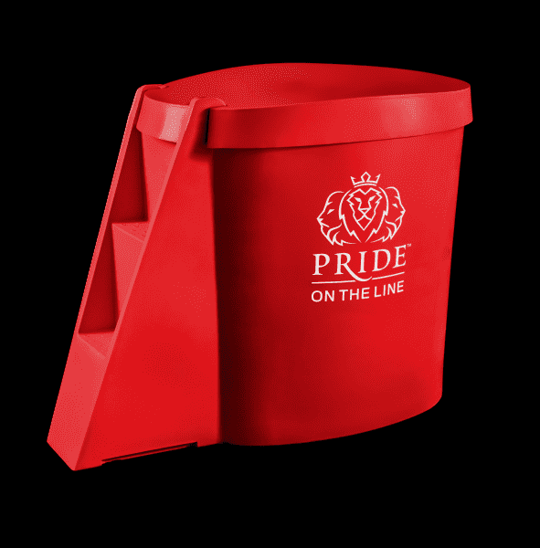 Pride on the Line Ice Bath - Compact Recovery Package Red