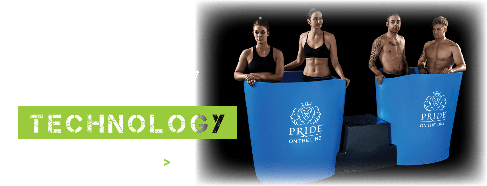 Pride on the Line Ice Baths - Recovery Technology Duo