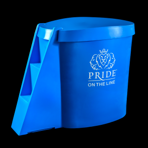 Pride on the Line Ice Bath - Recovery Bath Compact with Lid