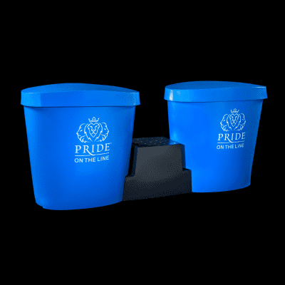 Pride on the Line Ice Bath - Recovery Bath Duo with Lid