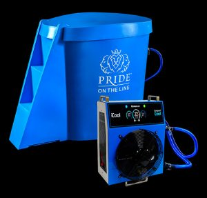 Pride on the Line Ice Bath - Compact Cool Recovery Package