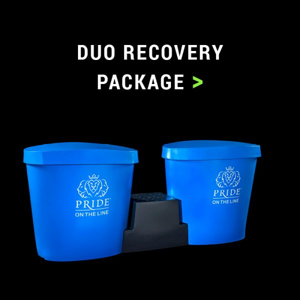 Pride on the Line Ice Bath - Duo Recovery Package