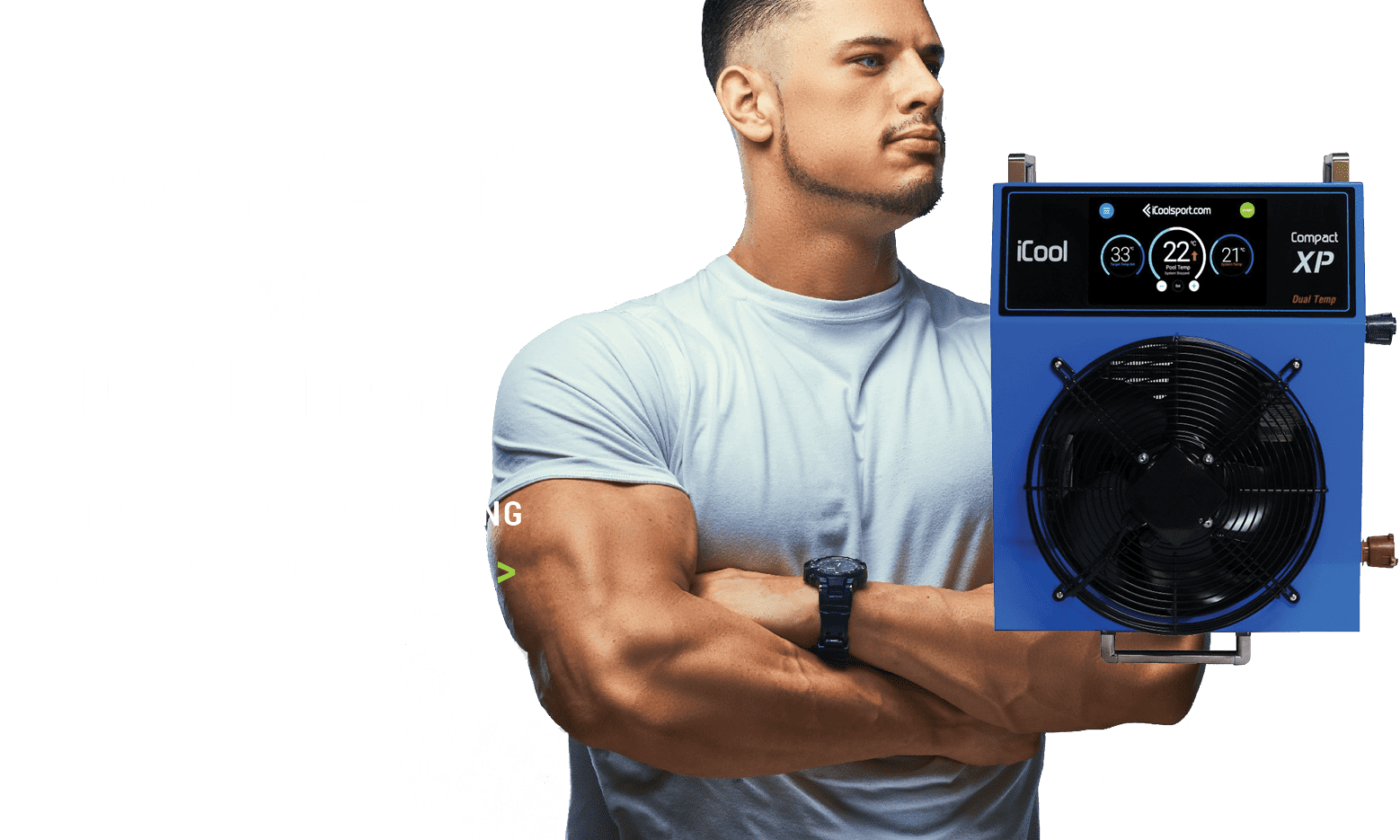 Pride on the Line Compact Cool XP Dual Temp Cooler Unit