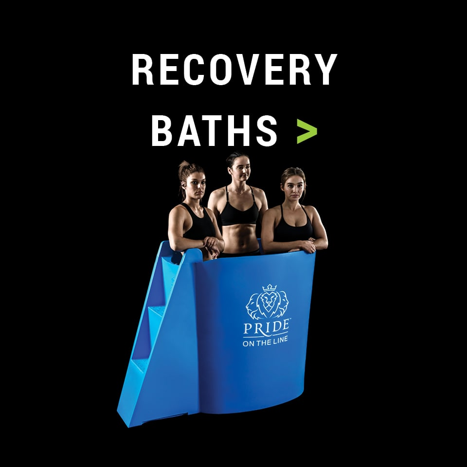 Pride on the Line Ice Baths - Recovery Baths